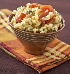 Risotto aux tomates cerises, paprika et parmesan - Ôdélices : Recettes de cuisine faciles et originales !