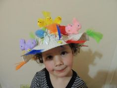 Win a Montezumas Easter hamper in our Easter bonnet pictures competition. Bonnet by Clareandtribe