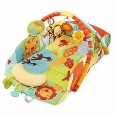 Activities area for babies // Area de juego safari baby's play place Bright Starts