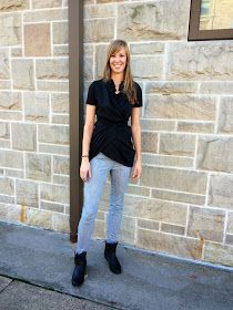 Refashion Co-op: Little Black Shirt