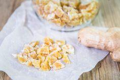 Zázvorové bonbóny – Snědeno.cz Grains, Food And Drink, Vegetables, Vegetable Recipes, Seeds, Veggies, Korn
