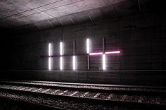 Prime by Marius Watz for the Bybanen metro system in Bergen, Norway