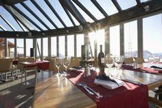SL70 system was installed at the Glacier Garden restaurant glass pavilion on Germany