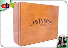 TWININGS CASSETTA DEGUSTAZIONE IN LEGNO THE/TE .60 pz aromatizzati!