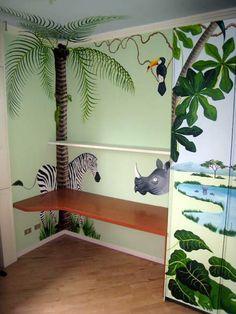 Great Jungle Mural By Http Muralmax Com Nursery