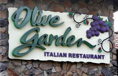 Olive Garden - When I want Soup, Salad, and Breadsticks.