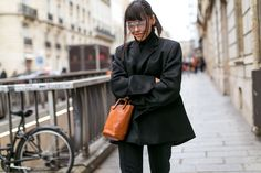 Paris from the Streets- big tinted glasses