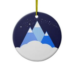 Mount Airy ornament - front
