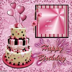 Resultado de imagen para personalized happy birthday picture frame