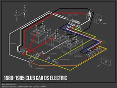 wiring diagram  electric club car wiring diagrams club car