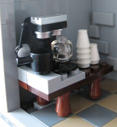 Lego coffee espresso machine