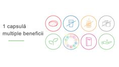 Am adunat tot ceea ce-i mai bun: Bomboane masticabile cu gust de jeleu de fructe  Nu trebuie să le bei cu apă  Nu conţin gluten  Nu conţin zahăr  Doar arome naturale  Asigură organismului vitaminele necesare în formă bioaccesibilă  Ambalaj uşor de manevrat  Administrare eficientă, simplă, comodă, igienică