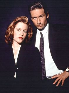"10 Cast Reunions: Mulder & Scully - ""The X-Files"" Then and Now 