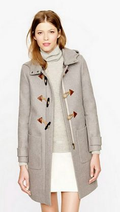 Convertible Toggle Coat, I totally want a grey one too!