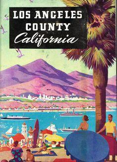 Los Angeles County California 1950s