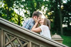 A Central Park Engagement // Aaron and Jillian Photography - Charleston Wedding Photographer