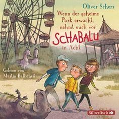 """Unser Liebslingsautor Oliver Scherz hat sich ein neues Abenteuer für alle ab sechs ausgedacht: """"Wenn der geheime Park erwacht, nehmt euch vor Schabalu in Acht"""". Hörbuch Rezension von @j…"""