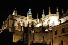 La catedral de Toledo. Vistas desde una terraza en la el trabajo se convierte en disfrute. Febrero 2013