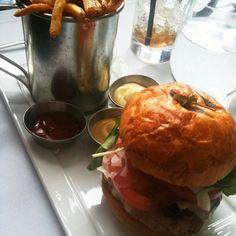 Turkey Truffle Burger @ Colt & Gray