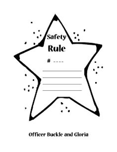 Officer Buckle and Gloria Safety Tip Writing and Craft
