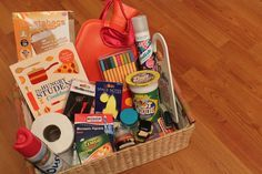 student fresher freshman survival kit box hamper