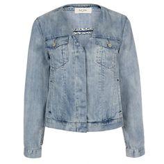 Paul Smith Women's Jackets | Collarless Denim Western Jacket