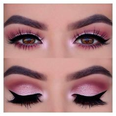 39 Ways of Applying Eyeshadow for Brown Eyes ❤ liked on Polyvore featuring beauty products, makeup, eye makeup, eyeshadow and eye's #beautymakeupforbrowneyes #beautymakeupproducts