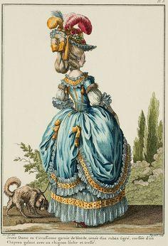Galerie des Modes, 8e Cahier, 2e Figure: Circassienne, 1778