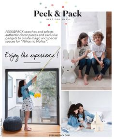 Peek&Pack advertise Photographer: Silvia Bujan