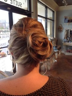 Updo by Chrissy