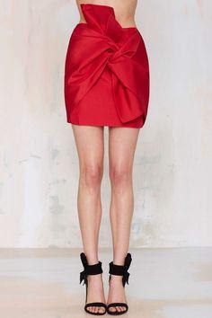 Cameo No Advice Taffeta Skirt | Shop Clothes at Nasty Gal!