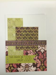 Cards, Cards and more cards can be created using this fabulous paper packet.   IVY LANE from Close to my Heart http://chris.ctmh.com