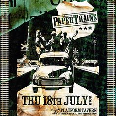 Playin' Platform Tavern this Thurs (yeah). So come on down if you've a hankerin' for some old-time stompin' tunes, original ditties n' whiskey-laden, snuff-snortin' lullabies. Free entry//9pm start.