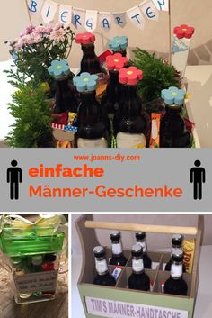 Geschenk Hochzeit – simple gifts for men – need a birthday present for a man? – For Design Diy Gifts For Friends, Bff Gifts, Bff Birthday Gift, Birthday Presents, Gifts For Brother, Gifts For Dad, Christmas Gifts For Men, Christmas Diy, Holiday Crafts