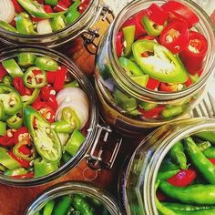 Pickled chilies in different sizes and shapes! ️️ #food #foodporn #yum #instafood #TagsForLikes #yummy #amazing #instagood #photooftheday #sweet #dinner #lunch #breakfast #fresh #tasty #food #delish #delicious #eating #foodpic #foodpics #eat #hungry #foodgasm #hot #foods