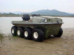 Amphibious 8X8 ATV