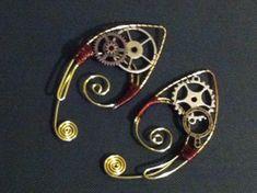 Steampunk Ear Wrap on Etsy, $40.00