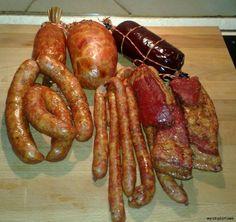 Peklowanie mięs na wędzonki. | wyroby-domowe wg Miro Charcuterie, Chorizo, Home Made Sausage, Polish Recipes, Polish Food, Kielbasa, Smoking Meat, Canning Recipes, Sausage Recipes