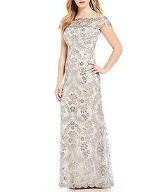 24d9221cf7 Mother of the Bride Long Dresses   Gowns. Prom DressesFormal DressesWedding  DressesTadashi ShojiWedding RehearsalDillardsGroom ...