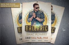 Balearic flyer template. Get it here: http://graphicriver.net/item/balearic-flyer-template/7937948?WT.ac=portfolio&WT.z_author=FlipNGecko