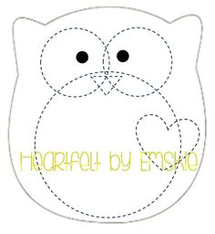 Image gallery for : felt template owl More Más Owl Templates, Applique Templates, Applique Patterns, Printable Templates, Felt Crafts Patterns, Owl Patterns, Felt Owls, Felt Birds, Felt Owl Pattern
