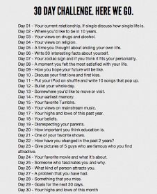 Freckled Italian: 30 Day Challenge