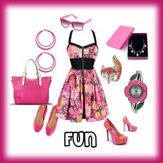 Hot Pink, created by vicki-hamilton.polyvore.com