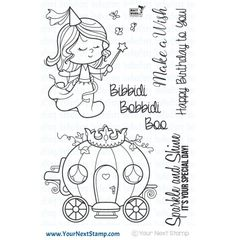 Made in the USA of High Quality Photopolymer. YNS stamps have a microscopically porous surface which gives superior ink transfer with all types of ink! This stamp set measures approximately 4 x 6 inches. Pattern Coloring Pages, Colouring Pages, Pumpkin Carriage, Cartoon Girl Drawing, Princess Drawings, Bullet Journal Art, Doodle Designs, Felt Patterns, Fairy Godmother