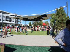 Outstanding Achievement Award in Shade Sails: Cockburn Town Square