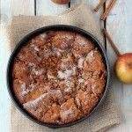 Walnut Apple Cake (gluten free) - My Kitchen in the Rockies   A Denver, Colorado Food Blog