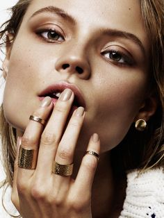 visual optimism; fashion editorials, shows, campaigns & more!: magdalena frackowiak jewelry: magdalena frackowiak by alique for models.com!
