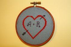 Cross stitch initials