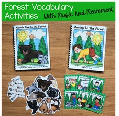 ""\""""Animals Live in the Forest"""" Adapted Song Book Movement Activities, Sorting Activities, Vocabulary Activities, Animal Activities, Woodland Animals Theme, Forest Animals, File Folder Games, Music And Movement, Animal Books""235|229|?|en|2|1916481829e5effea324d853b274b620|False|UNLIKELY|0.40159985423088074