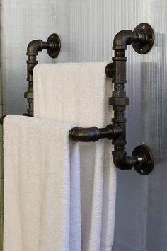 handtuchhalter selber bauen